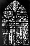 Antwerpener Meister 1532 Glasmaleri E.& Samariterin; Notre Dame Caudebec-en Caux