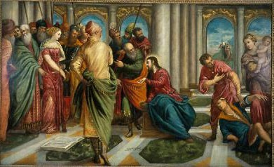 Jacopo Tintoretto & Geh., (Lw.163,8x244,2cm; Rep.mit Dank an Museum Atlanta)