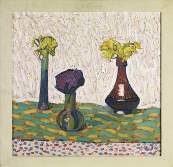 Cuno Amiet (1868-1961) Blumenvase 1906 (Christies 2008)