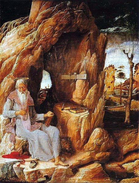 Andrea Mantegna (1431-1506), San Girolamo 1450, Sao Paolo, Museu de Arte