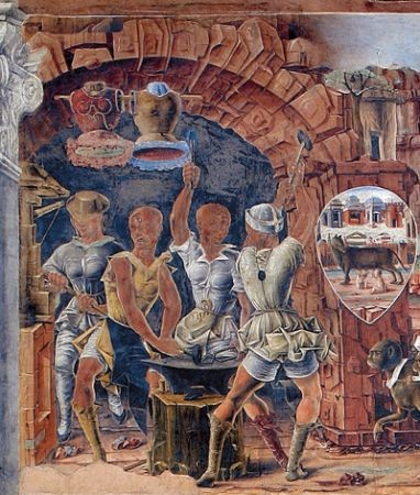 idem, Detail: die Esse der Zyklopen
