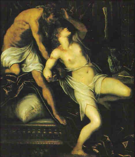 Tarquin und Lukrezia (privat, verschollen)