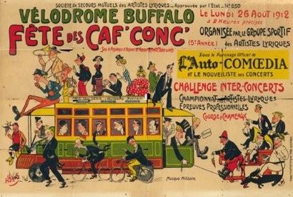 Vélodrome Buffalo August 1912