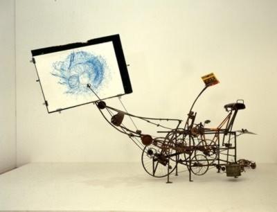 Jean Tinguely, 1925-1991, Cyclograveur 1960