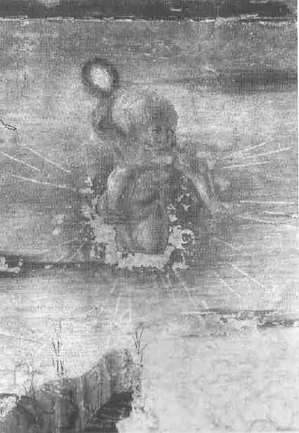 idem, Detail: Apolloknabe mit dem verräterischen Spiegel