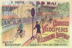 Plakat Vélodrome Buffalo à Neuilly 1893