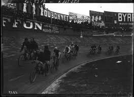 Steherrennen im stade Buffalo in Paris 1911