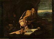 Jacopo Bassano (1510-1592), San Girolamo penitente (Replik?) Chambéry Md.b.A.