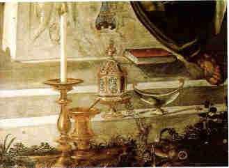 Gesuiti, Detail: Messgeräte