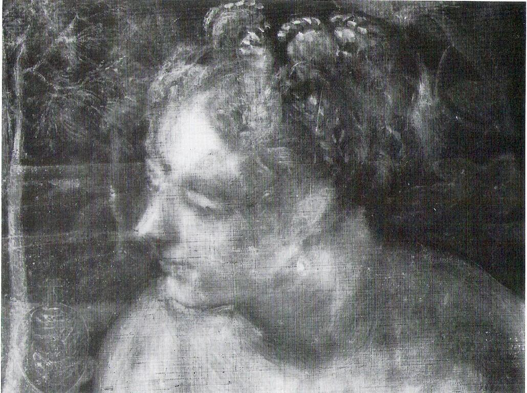 Susanna, Wien Radiographie (Parfümväschen neben der Schulter)