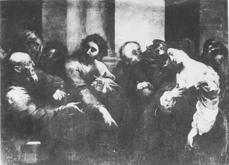 Bartolomeo Biscaino (1632-1657 Genua) Gem.smgl. Alte M. Dresden (Lw.147,5x199,5cm)