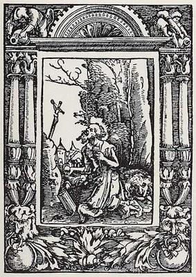 Holzstich gegen 1500