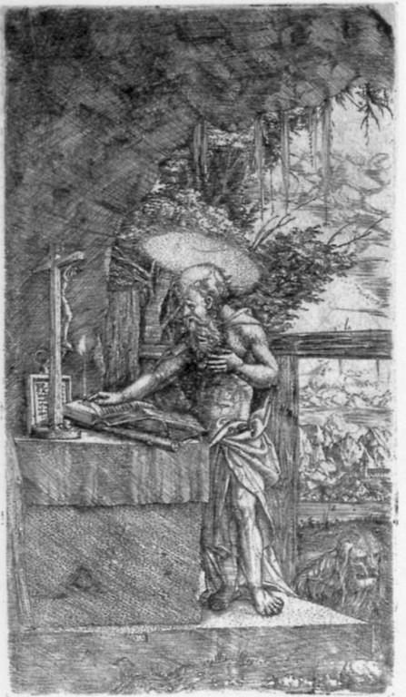 A.Altdorfer, Hieronymus um 1515 Berlin Kupferstichkabinett.