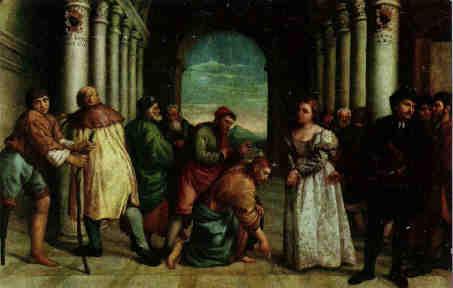 Jacopo Bassano(1510-1592), Museo Civico Bassano(Lw.141x255cm)