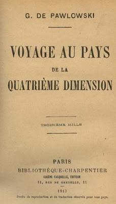 Pawlowski, Voyage dans le pays de la quatrième dimension 1913