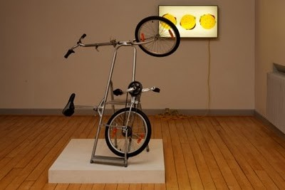 Morten Steen Hebsgaard (*1977), Ladder bike - Made in China/Remade in Denmark 2007