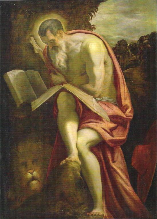 Tintoretto, San Girolamo, 1571/72, Wien, Kunsthist. Museum