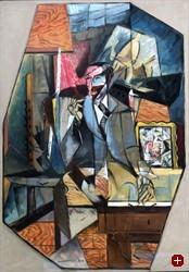 """gefälschter Marcoussis, """"Portrait Flechtheim"""""""