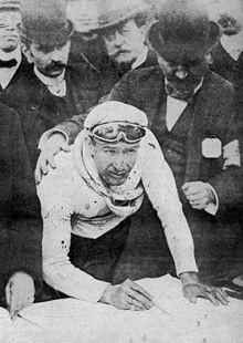 Charles Crupelandt (1886-1955), einziger Roubaisien, Sieger des Paris-Roubaix 1912 und 1914