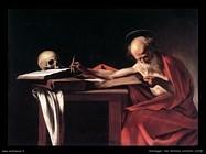 Caravaggio(1573-1610), San Girolamo 1606, Roma,Galleria Borghese