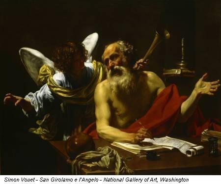 Simon Vouet (1590-1649) Saint Gérôme, Washington National Gallery
