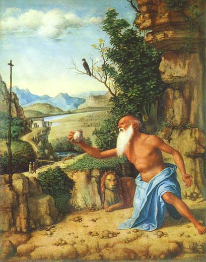 Cima da Conegliano (1459-1517), San Girolamo 1492, London National Gallery