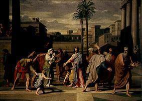Nicolas Colombel (1644-1717) um 1690, Lw. Privatbesitz