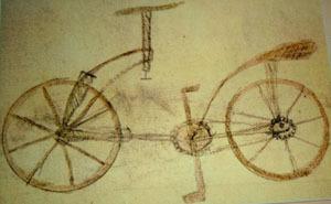 """gefälschte """"Leonardo-"""" Zeichnung im Codex Ambrosiano Mailand 133v (ca 1960f)"""