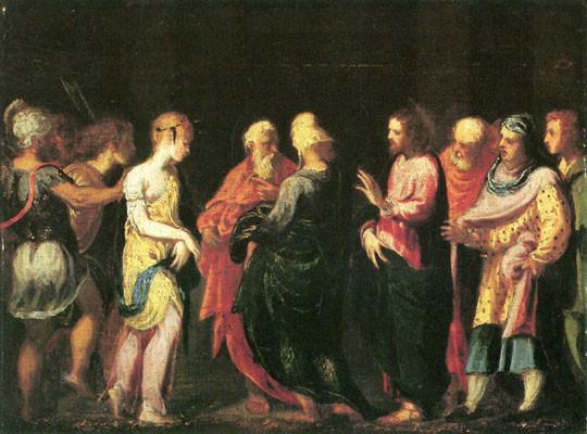 Andrea Schiavone,(um1520-1563), Milano, Smgl.Rossi(ehem.Coll.E.Schapiro Manchester)