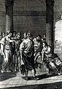 anonym Kupferstecher nach Tintoretto (16./17.Jh.)