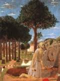 Piero della Francesca (1416-1492), Hieronymus 1450, Berlin Staatl.Museen