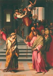 "Alessandro Allori (1535-1607), Sto.Spirito, Florenz, Holztafel ""1577"""