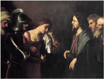Nicolas Tournier (1590-1639 Toulouse), Musée roy.d.b.Arts Brüssel, Lw. ca.1625