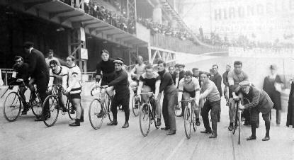 le Vélodrome d'Hiver, Paris 1909