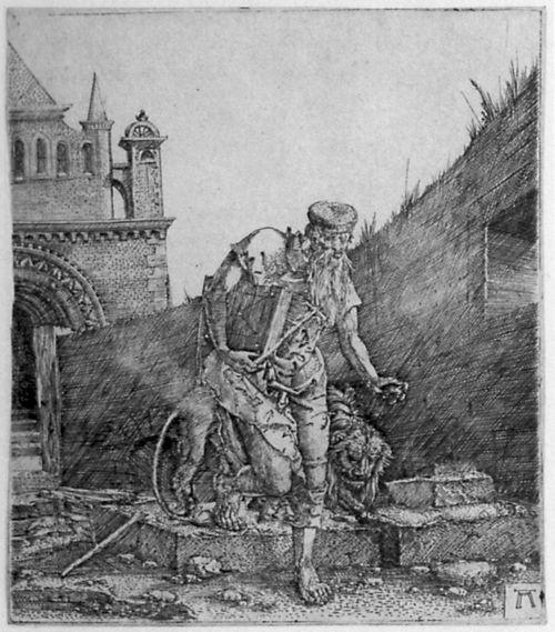 A.Altdorfer, Hieronymus vor 1519 Berlin Kupferstichkab.