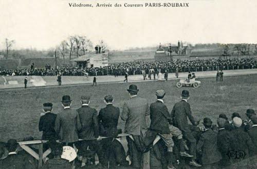 Le vélodrome de Roubaix 1911