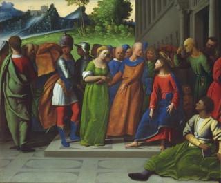 Giovanni Battista Benvenuti, l'Ortolano (Ferrara 1487-1527) Court.Inst. London