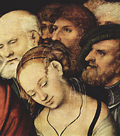 Lukas Cranach, Detail