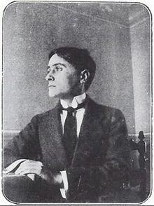 Foto Jean Metzinger ca 1912