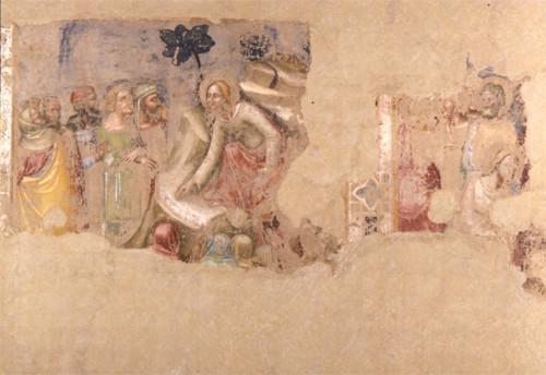 Maestro dell'Adultera (Fresko aus St.Apollonia ,Mezzaratta (Dep.Pin.Bologna)
