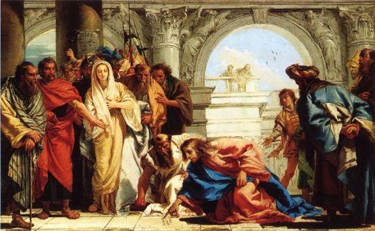 Giambattista Tiepolo (1696-1770) 1752/3; Marseille M.d.b.A., inv.53-1, Lw. 77x127cm