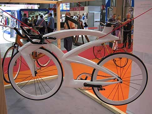 "Marco Mainardi & Arianna Teso, 15.th Int. Bicycle Design Competition Taipei 2010;1.Price ""Aria"""