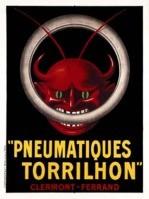 Cappiello, Poster Pneumatiques Torrihlon 1906