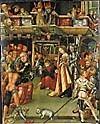 Heinrich Vogtherr d.Ä.(Dilligen 1490-1556 Wien),Lindenholz 113,5x92cm W.R.Mus. Köln Fond. Corboud
