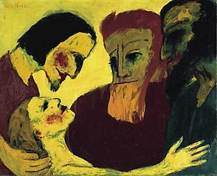 Emil Nolde (1867-1956) 1926, Nationalgalerie Berlin (Lw.86x106) 1937 'entartet'
