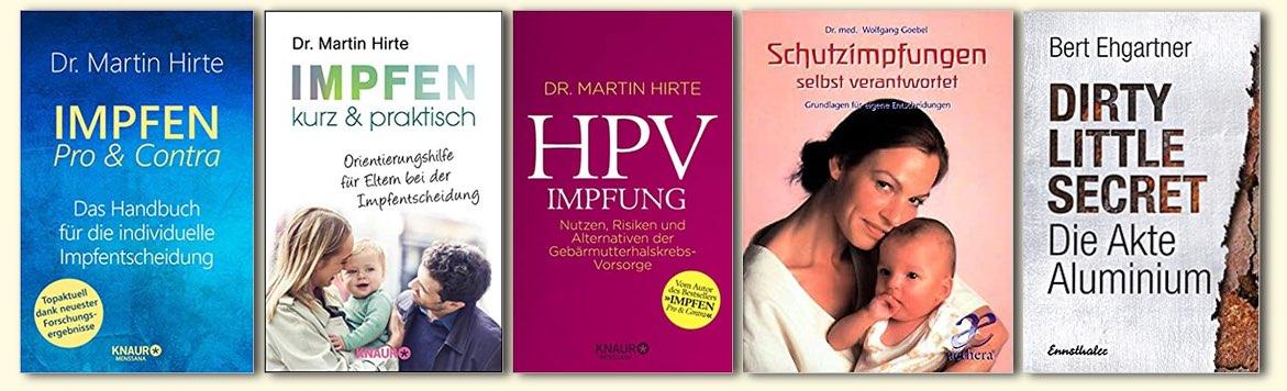 Bücher Thema Impfen
