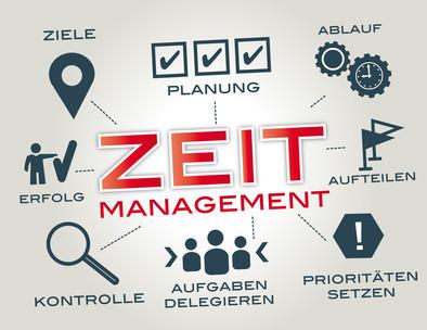 Zeitmanagement: Ziele, Planung, Ablauf, Aufteilen, Prioritäten setzen, Aufgaben delegieren, Kontrolle, Erfolg