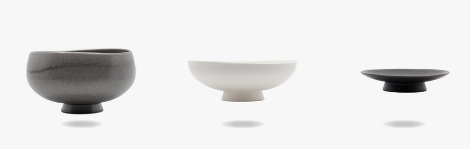 Bowls, Stefan Radinger Design, Produktion Beate Seckauer, Neuzeughammer Keramik