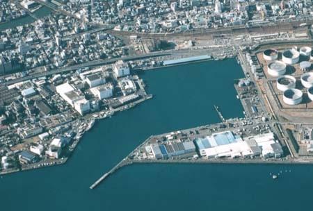 Ejiri wharf