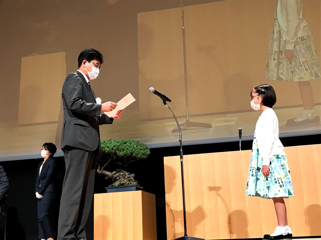 Shimizu Port Passengers Committee Award_2nd grader